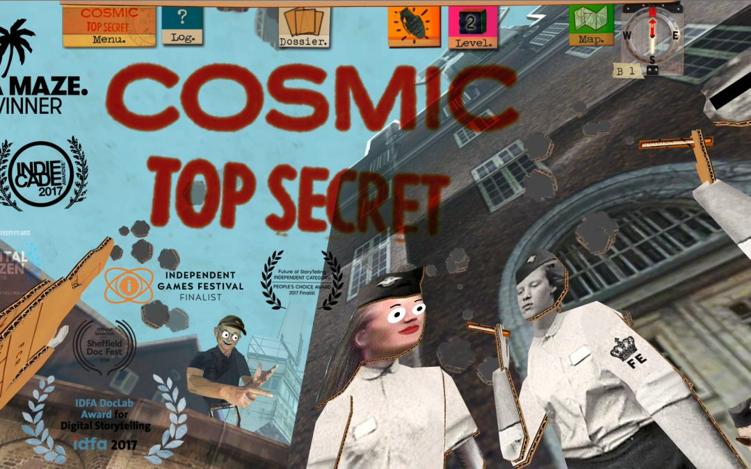 COSMIC TOP SECRET out now!
